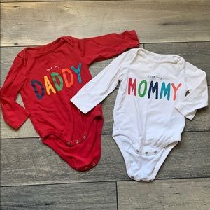 12-18 month 2 GAP Bodysuits